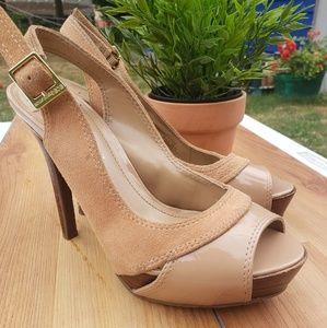 🎀BCBGeneration Nude PI- alcoa Formal Shoes
